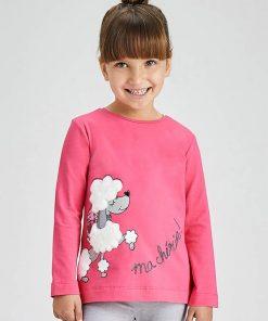 Camiseta fucsia niña Mayoral