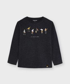 Camiseta grafito niño Mayoral