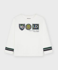 Camiseta apliques niño Mayoral