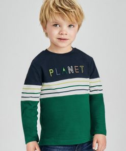 Camiseta combinada niño Mayoral