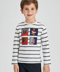 Camiseta rayas niño Mayoral