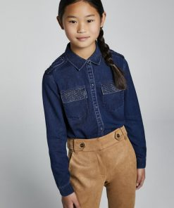 Blusa tejana junior niña Mayoral