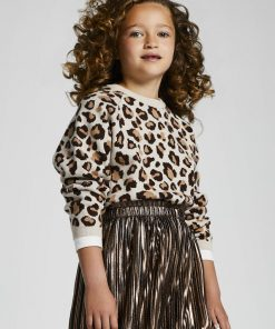 Jersey leopardo chica Mayoral