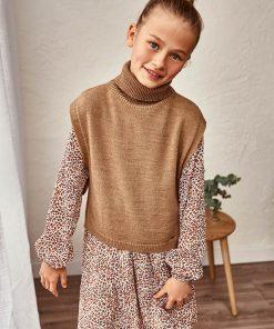 Poncho tricot junior niña Mayoral