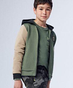 Chaqueta con capucha junior niño Mayoral