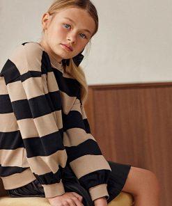 Vestido rayas junior niña Mayoral