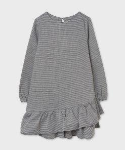 Vestido pata gallo junior niña Mayoral
