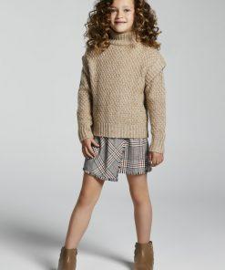 Vestido cuadros junior niña Mayoral