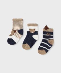 Set 3 calcetines bebe niño Mayoral