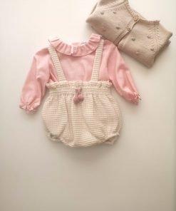 Conjunto 3 piezas rosa Abeto Micolino