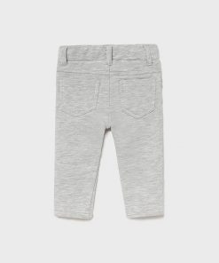 Pantalón felpa gris bebe niña Mayoral