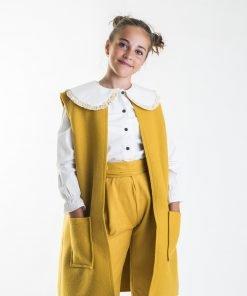 Camisa Moutard niña Eve Children