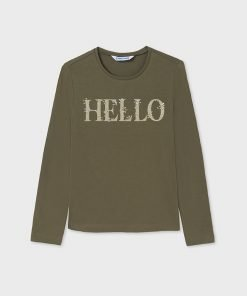 Camiseta básica junior niña Mayoral