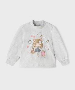 Camiseta perla bebe niña Mayoral