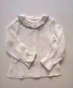 Blusa cuello niña Pilar Batanero