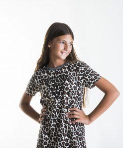 Camiseta niña animal print Guess