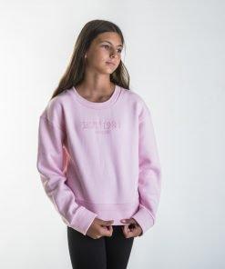 Sudadera niña rosa Guess